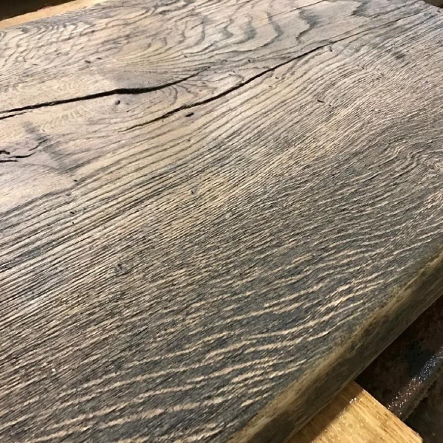 altholz stil baumscheibe waschtisch tischplatte brown struktur eiche baumkante 100x40x4 5cm. Black Bedroom Furniture Sets. Home Design Ideas