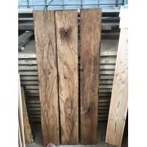 Altholz-Stil, Antik, rustikal, Balken, Bohle, Eiche, geölt, Massivholz, 80x20x3,5cm