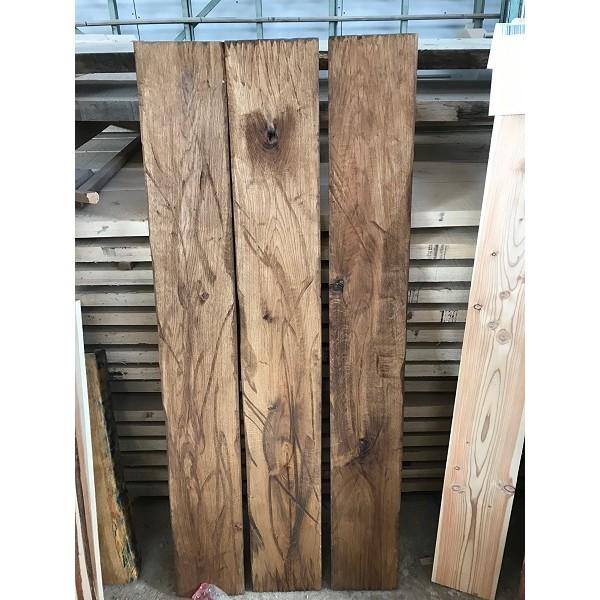 Altholz-Stil, rustikal, antik, Balken, Bohle, Eiche, geölt, Massivholz, 50x20x3,5cm