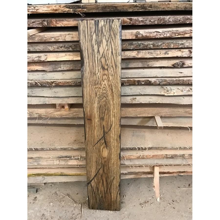altholz stil rustikal antik balken bohle eiche braun brown ge lt massivholz 150x20x3 5cm. Black Bedroom Furniture Sets. Home Design Ideas
