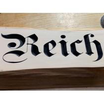 Holzschild mit individueller Gravur, Gartenschild, Firmenlogo, Türschild, Willkommensschild, Dekoschild, CNC gefräst
