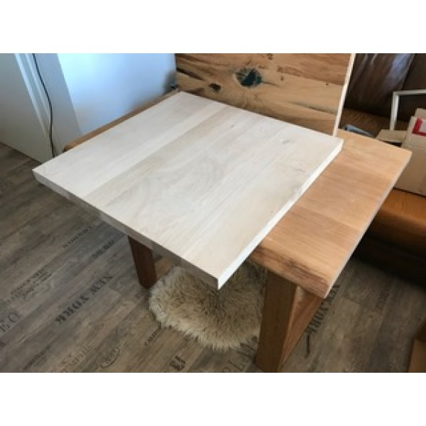 Eiche, Tischplatte, verleimt, Küchentisch, Kaffeetisch, Coffeetable, Bar, 70x70x3,5cm