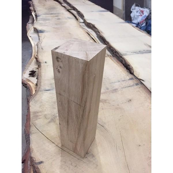 Eiche, 4 x Tischbein, Kantholz, Sparren, Balken, rustikal, Vollholz 100 cm 8/8, hochwertig verleimt