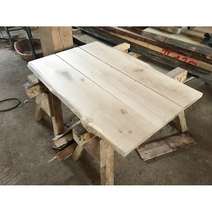 Baumscheibe Tischplatte Gartentisch Waschtisch Bohlen Fur