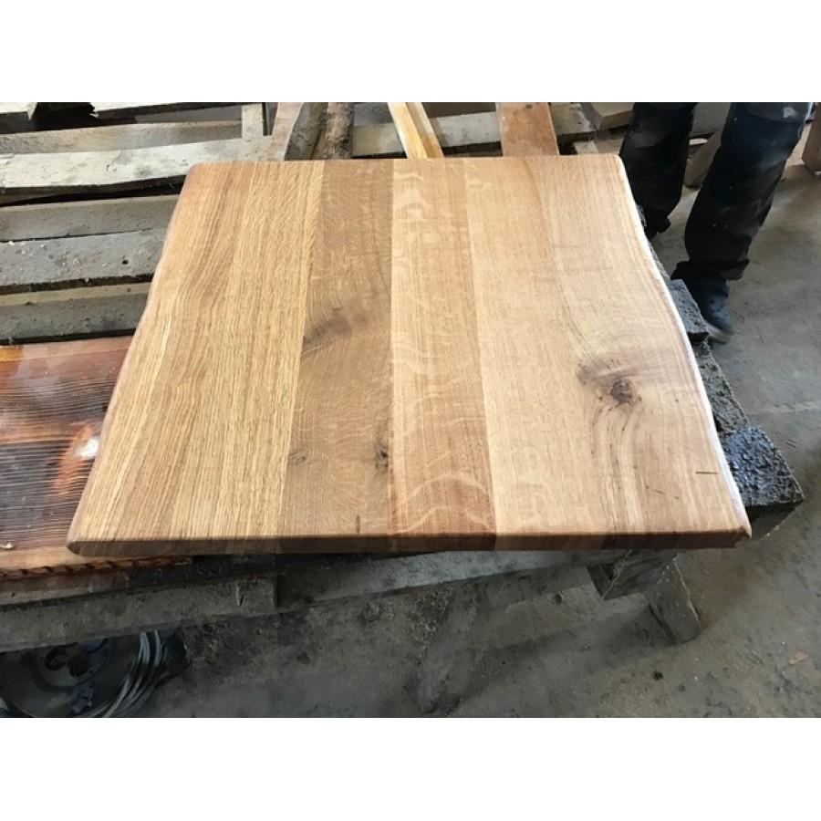 Eiche, Tischplatte, Verleimt, Küchentisch, Baumkanten