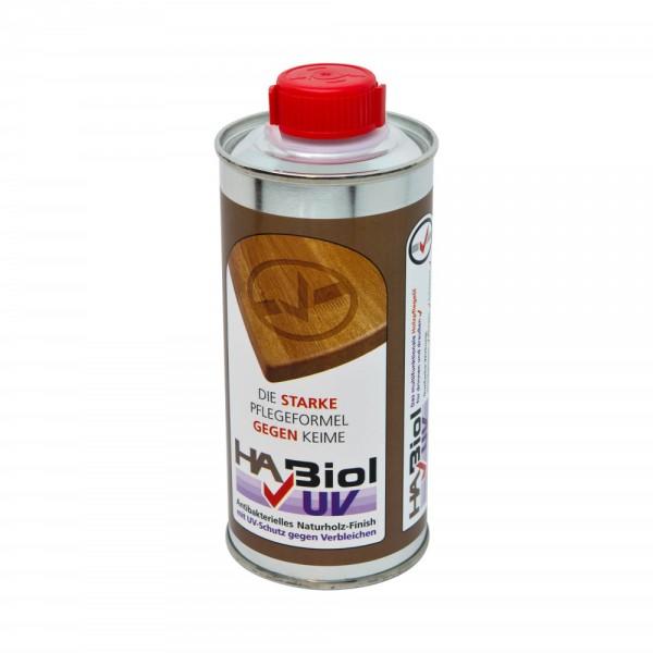 HABiol mit UV Schutz, Holzöl, Holzpflege, Arbeitsplattenöl, Innen & Außen, 250ml
