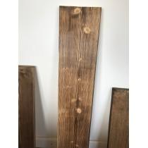 Altholz-Stil, Gerüstbohle, Fichte, strukturiert und geflammt, 200 cm