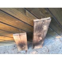 Brett, Bohle, rustikal, Tisch, Tischplatte, Eiche, geflammt, DIY, Vollholz 150x25x3cm