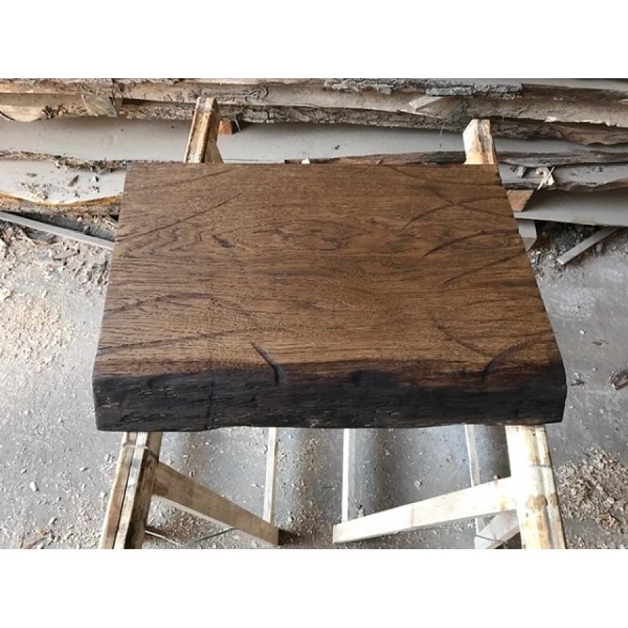 Waschtisch, Tischplatte, Altholz-Stil, Antik, Eiche, Baumkante ... | {Waschtischplatte altholz 76}