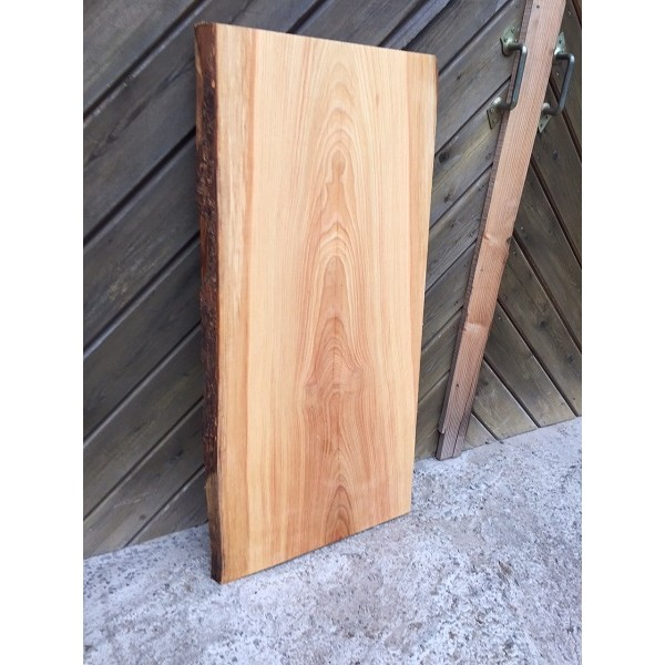 tischplatte waschtisch l rche unbes umt gerade ein st ck baumkante rustikal 100x45 50x4cm. Black Bedroom Furniture Sets. Home Design Ideas