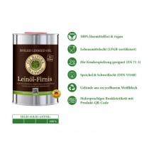 OLI-NATURA Leinöl-Firnis, biologischer Holzschutz, farblos, 1 Liter