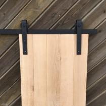 Eiche, Schiebetür, Holztür, Türblatt, Scheunentor, Massivholz, rustikal, Maß- und Farbauswahl