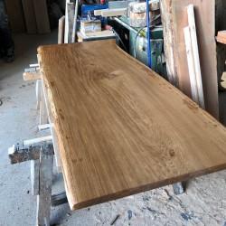 Neu im Programm: Vollholz-Tischplatten aus Eiche bis 110 cm Breite!