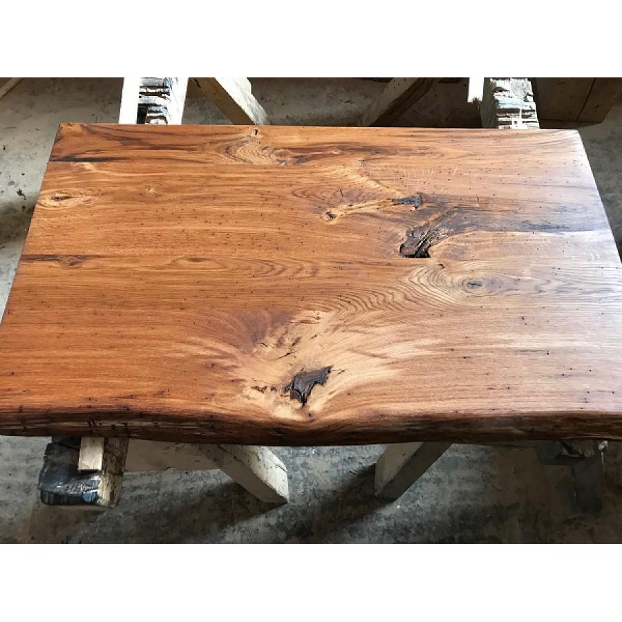Eiche rustikal spezial wurmstichig massivholz for Massivholz tischplatte