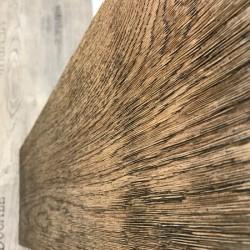 NEU im Sortiment: Strukturiertes Eichenholz im