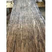 Altholz-Stil, rustikal, antik, Balken, Bohle, Eiche, strukturiert, geölt, Massivholz, 160x25x3,5cm