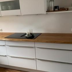 Kundenprojekt: Küchenarbeitsplatte aus Eiche in 327cm Länge!