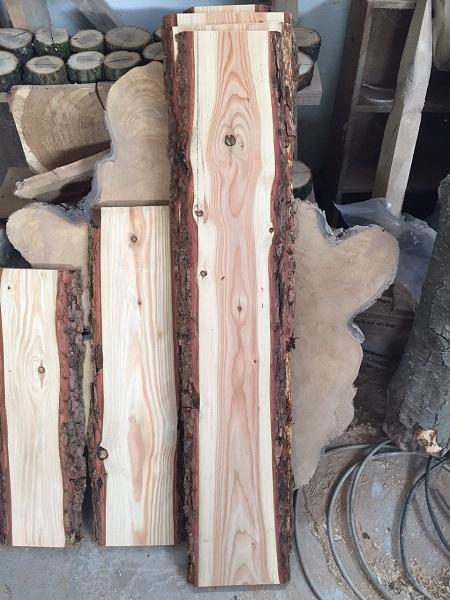 baumscheibe brett bohle rustikal mit rinde heimwerker handwerk massivholz. Black Bedroom Furniture Sets. Home Design Ideas